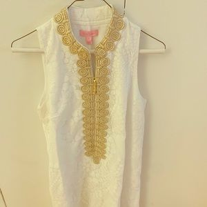 Lily Pulitzer Resort White Mocean Lace